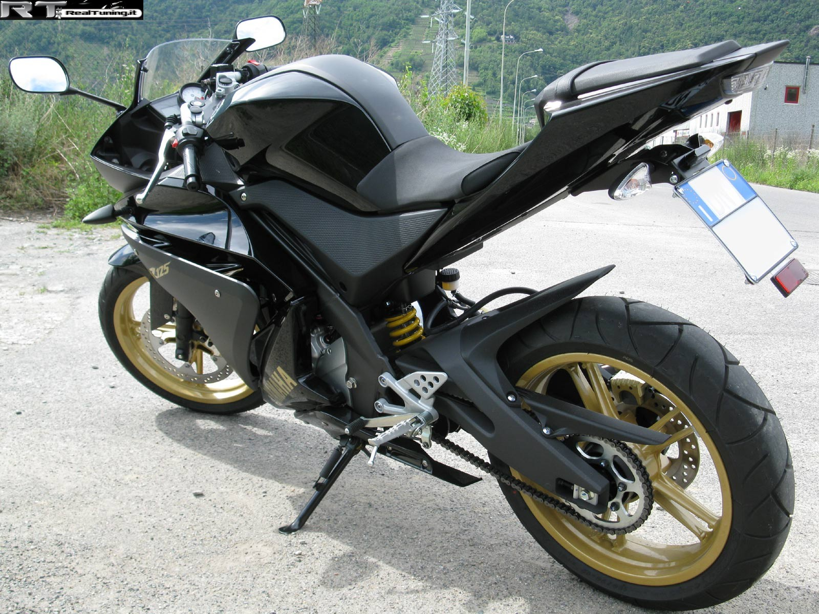 yamaha r125 di plozza tuning foto 2 realtuning it. Black Bedroom Furniture Sets. Home Design Ideas